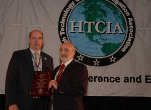 HTCIA 2011 Lifetime Achievement Award winner Ken Citeralla, Northeast Chapter